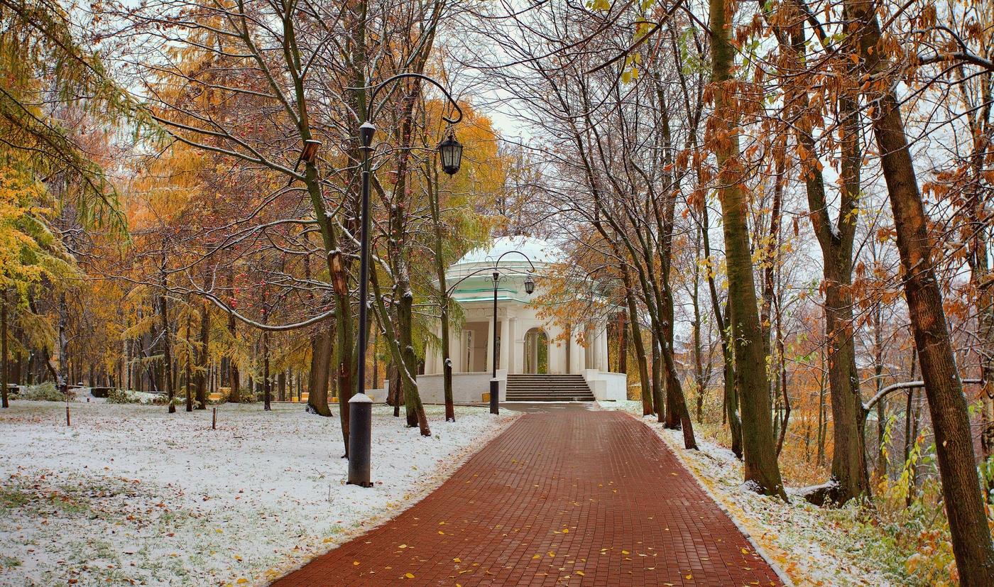 Поздняя осень в городе картинки